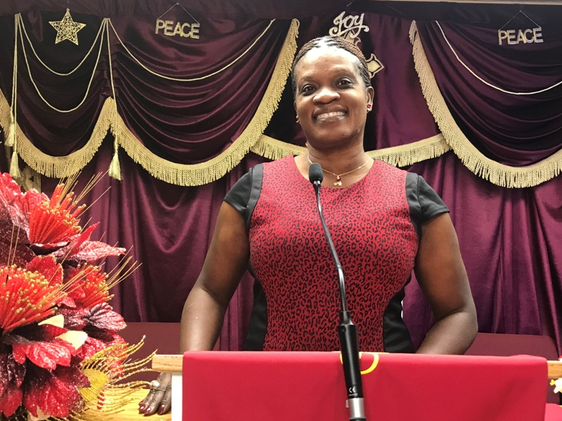 Sister Myrlene Seraphin, Assistant Manager of Ebcofl Local and International Ministries Outreaches